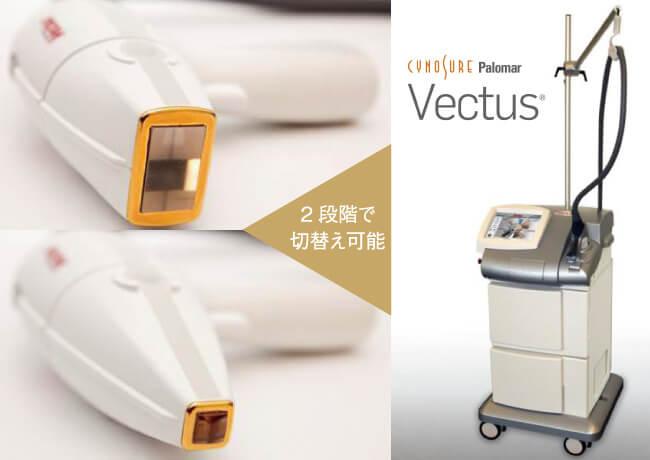 大西メディカルで使用する光治療機器「Vectus(ベクタス)」